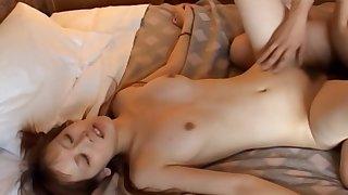 Rena rides cock like a maniac!