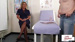 Bigtitted nurse spycam encouraging kibitz close by trudge