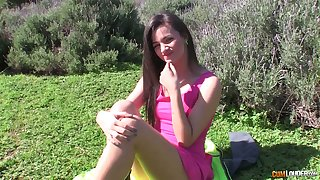 After optimistic her natural boobies beautiful GF Alicia Poz rides dick nonstop