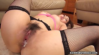 Luscious Asian sweetheart Yui Shiina gets fucked and creampied