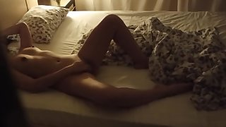 Caught masturbation wife